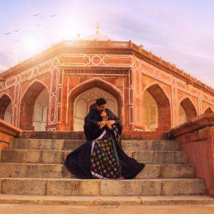 pre wedding Humayun Tomb